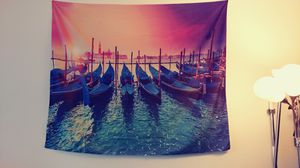XXL Peaceful Tapestry Painting for wall decor for Sale in Alexandria, VA