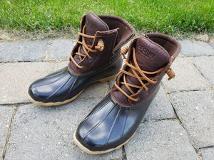 Sperry top sider Saltwater Rain Boot size 8.5 for Sale in Chelmsford, MA