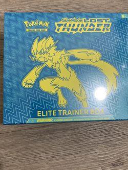 Lost Thunder Pokémon Elite Trainer Box for Sale in Auburn,  WA