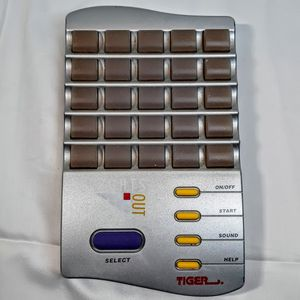 Lights Out Handheld - Electronic Puzzle - Travel Game - Vintage Tiger 1995 for Sale in Clarksville, IN