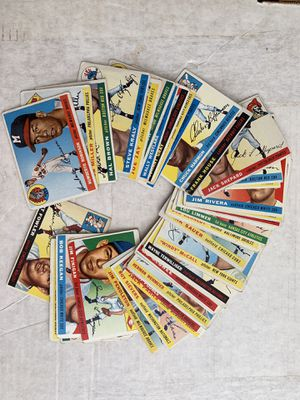 1955 Topps Baseball Cards 39 Different Original Cards for Sale in Brea, CA
