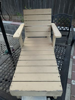 Wood Beach Chair for kids for Sale in Fresno, CA
