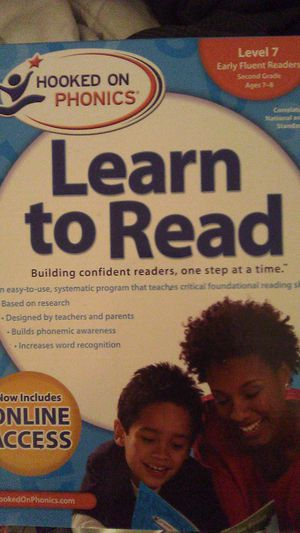 Brand New Hooked on Phonics Learn to Read level 7! 30$ firm for Sale in Tucson, AZ