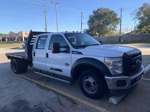 2014 F-350 Diesel 6.7L Turbo flat bed for Sale in Houston, TX