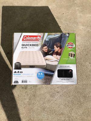 New Coleman Air-mattress queen built in pump for Sale in San Diego, CA