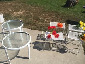 Tables patio , backyard furniture for Sale in Baltimore, MD