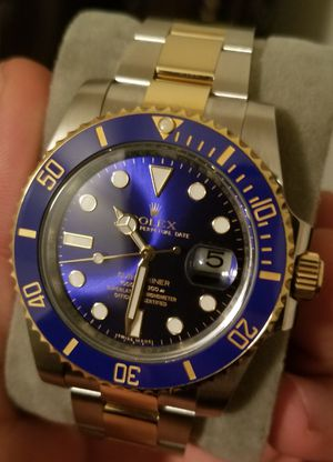 Rolex two tone submariner for Sale in Clarendon Hills, IL
