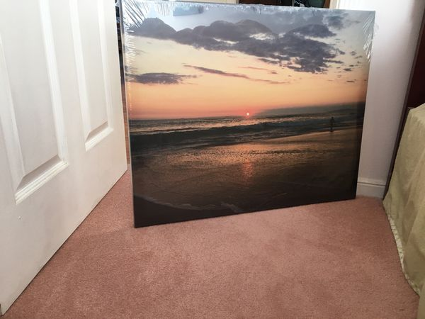 Sunset Photo Canvas 24x30