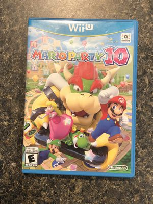Nintendo Wii U Mario Party 10 video game for Sale in Silverdale, WA