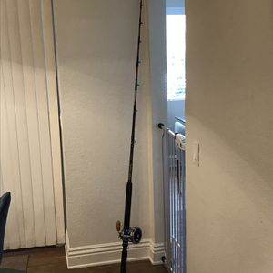 Pro Sabre SD700 7' Deep sea Fishing Rod (New) with Penn Senator 114-H Reel for Sale in Mount Baldy, CA