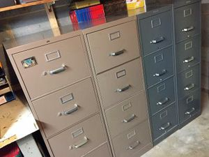 Statesman Letter File Cabinets (2) Legal File Cabinet (1). for Sale in Rockville, MD