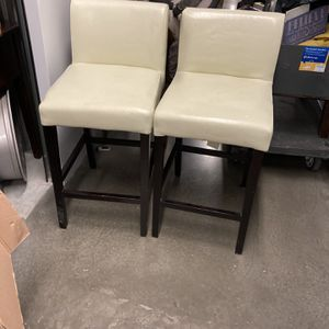 """Two I """" Think Leather""""bar Stools That Are In Exelent Condition for Sale in Austin, TX"""