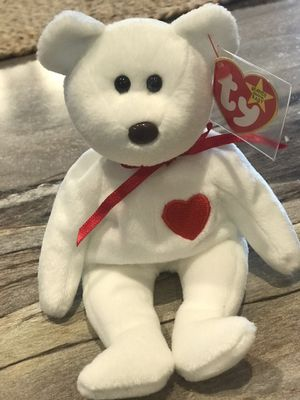 *Very Rare* Valentino Beanie Babies Bear with Brown nose for Sale in Manheim, PA