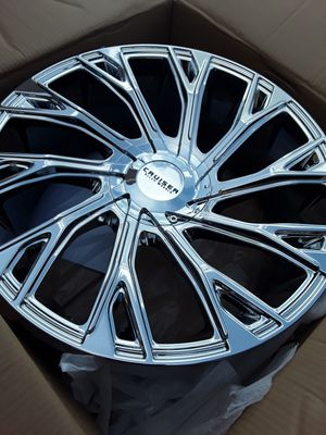 New 22 inch rims bolt pattern 5x115 and 5x115 for Sale in Melbourne, FL