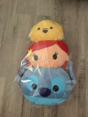 TSUM TSUM Disney stacked plushies for Sale in San Diego, CA