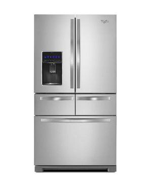 Whirlpool 26-cu ft 5-Door Standard-Depth French Door Refrigerator with Dual Ice Maker for Sale in Temple Hills, MD
