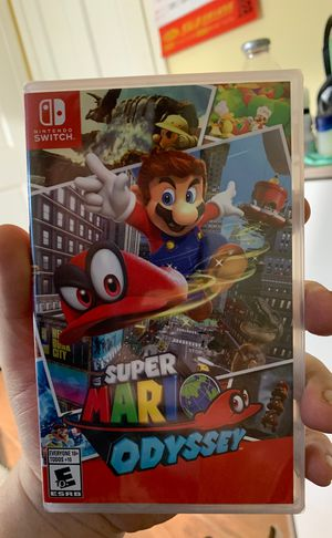 BRAND NEW SUPER MARIO ODYSSEY for Nintendo Switch for Sale in Washington, DC