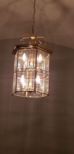 Set of two large chandeliers for Sale in Arlington, VA