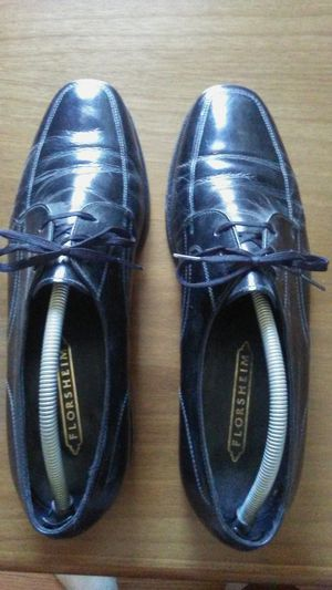 Black Florsheim leather shoes for Sale in Concord, CA