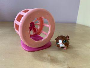 Littlest Pet Shop hamster & wheel for Sale in Redmond, WA