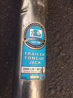 2000lbs Trailer tongue jack for Sale in Everett, WA