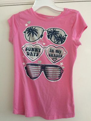 Girls Pink Sunglasses Shirt for Sale in Tampa, FL