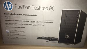HP Pavilion Desktop PC Setup for Sale in Salt Lake City, UT