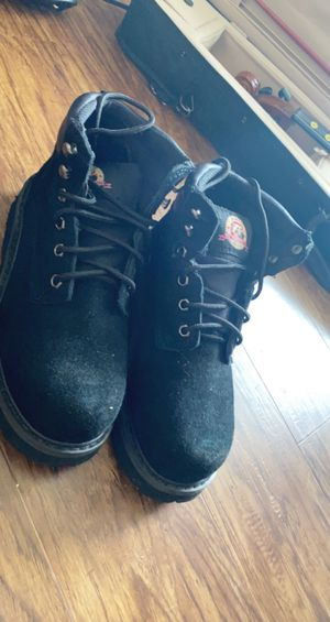Black combat boots for Sale in Columbus, OH