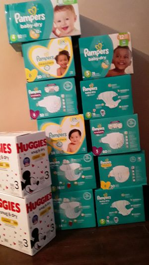 Pampers Huggies! I GOT IT ! for Sale in Long Beach, CA