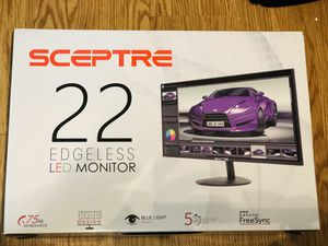 """Sceptre 22"""" Edgeless LED Computer Monitor for Sale in Lutz, FL"""