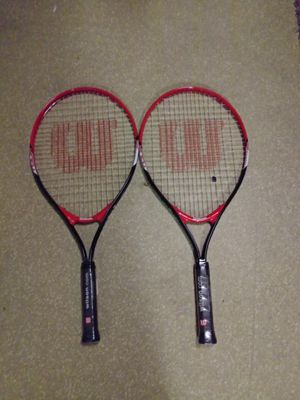 2 Wilson TOUR 25 Tennis Rachets for Sale in Holly Hill, FL
