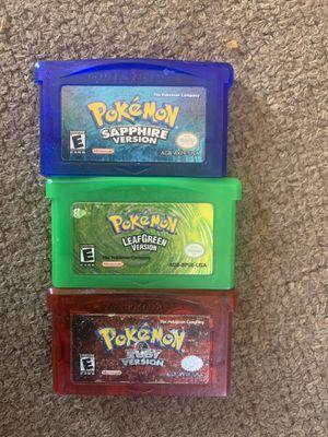 Game boy sp Pokémon for Sale in Santa Maria, CA