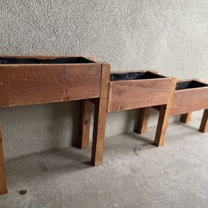 Step Style Planter Box /decor Box /flower Box for Sale in Modesto, CA
