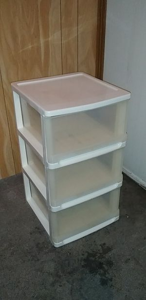 Plastic drawers for Sale in Fort Worth, TX