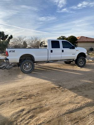 2001 Ford F-250 diesel 7.3 engine crew cab long bed 180,000 miles for Sale in Chino, CA