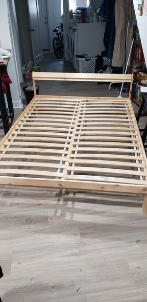 Neiden bed frame and slates for Sale in Washington, DC