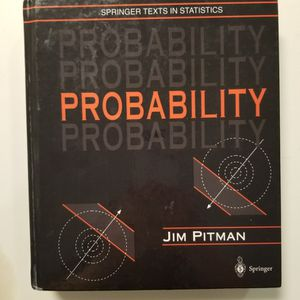 Probability by Jim Pitman for Sale in Concord, CA