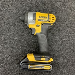 "Dewalt 20V 1/4"" Impact driver for Sale in Seymour, CT"