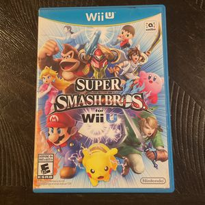 Super Smash Bros. Wii U for Sale in Oxnard, CA