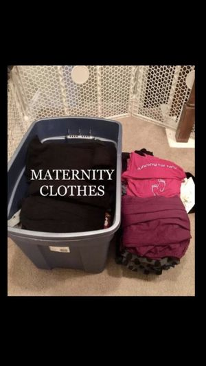 Maternity clothes size large and medium for Sale in Lawrenceville, GA