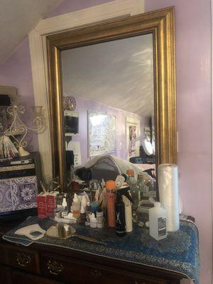 Big mirror gold for Sale in Smyrna, TN