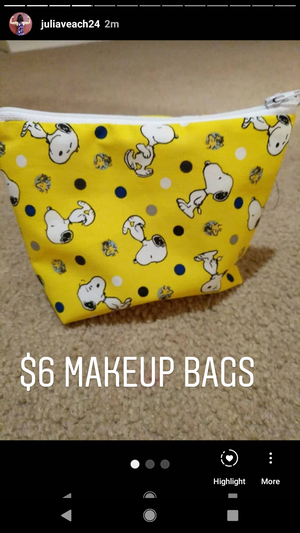 Hand Made Makeup Bags for Sale in Vancouver, WA
