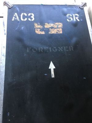Original 1970's Ampeg SVT roadcase used by FOREIGNER! for Sale in Philadelphia, PA