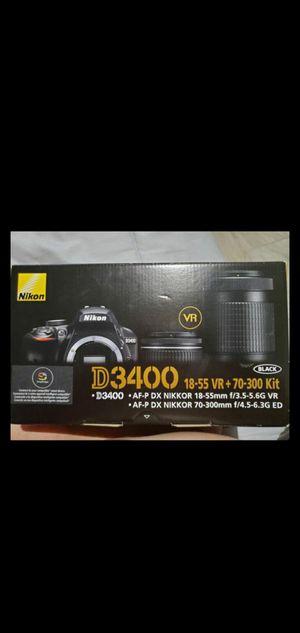 New Nikon d3400 black camera for Sale in San Diego, CA