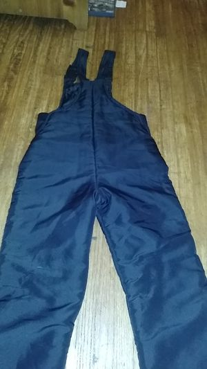 Youth snow bib small 6/7 overall for Sale in Huntington Park, CA
