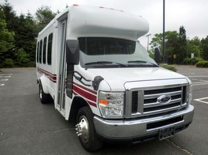 2008 Ford E-350 Non-CDL 14 Passengers Shuttle Bus (A4748) for Sale in Alexandria, OH