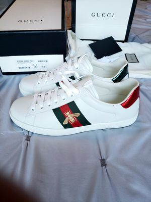 Gucci White Ace Sneakers for Sale in Forest Heights, MD