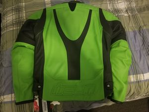 NEW ICON Overlord Green Motorcycle Jacket for Sale in Fairfax, VA