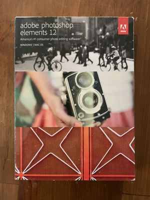 Adobe photoshop elements 12 for Sale in Hartford, CT