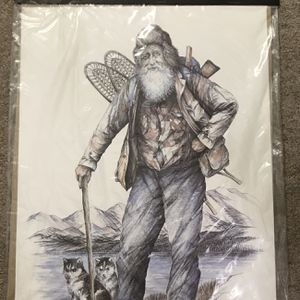 Proud Alaskans By Doug Lindstrand Signed By Artist 1982 Alaskan Sketches Limited Edition In Original Packaging Vintage Art for Sale in Seattle, WA